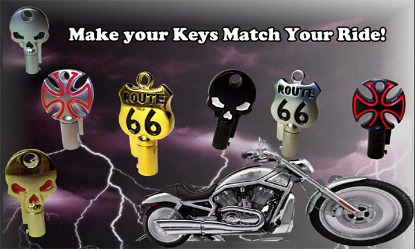 Make your Keys Match Your Ride